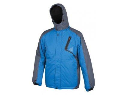 ALVIN páns. zim. bunda modro-sivá