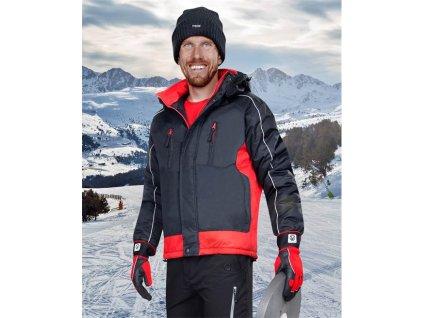 ARDON®ARPAD pán. zim. bunda čierno-červená