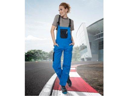 Dámske nohavice s náprsenkou ARDON®4TECH 03 modro-čierne, 164-172