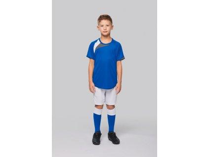 Detský fotbalový dres - tričko kr.rukáv