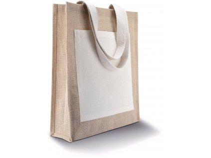 Nákupná jutová taška