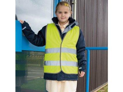 Detská reflexná bezpečnostná vesta CORE
