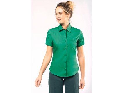 Dámska košeľa s krátkym rukávom JUDITH
