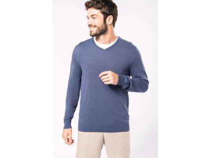 Pánský sveter do V Jumper