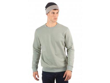 Dvojfarebná pletená čiapka