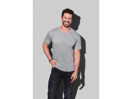 Pánske tričko Classic-T V-neck