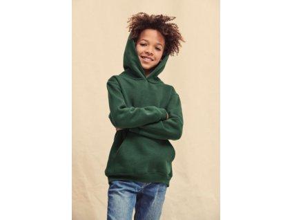 Detská mikina Kids Premium Hooded Sweat s kapucňou