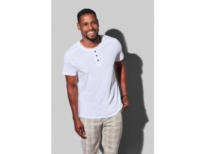 Pánske tričko s gombíkmi Shawn Henley