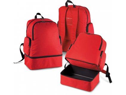 Športový batoh s odklápacím dnom