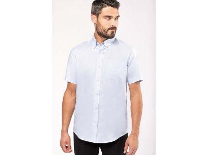 Pánská košile oxford s krátkým rukávem