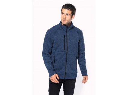 Pánská flísová mikina Full zip heather jacket