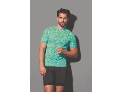 Pánske funkčné tričko Active Seamless Raglan