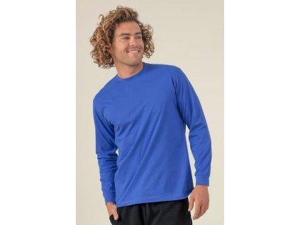 Pánske tričko dlhý rukáv s nápletmi