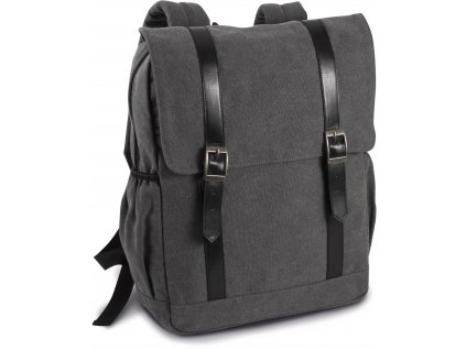 Plátený batoh s klopkou