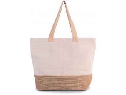 Rustikálna nákupná taška