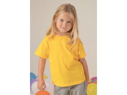 Detské tričko krátký rukáv JHK