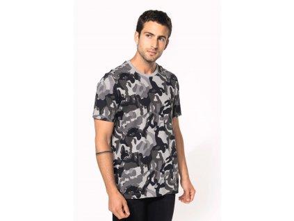 Pánske tričko Camo camouflage