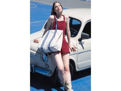 Módna nákupná taška z organickej bavlny