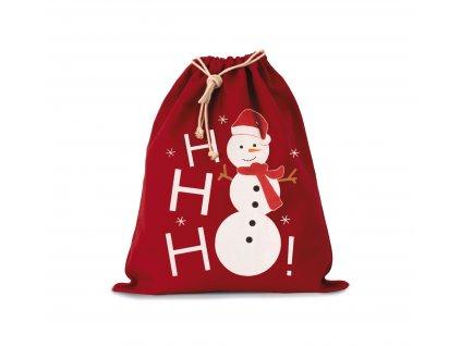 Bavlnená taška snehuliačik