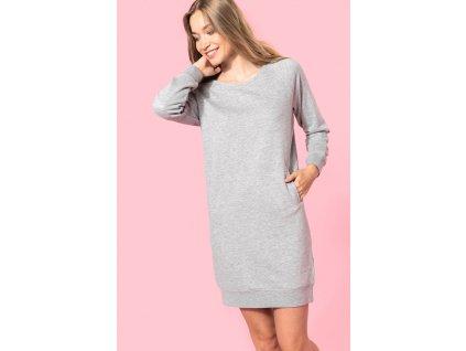 Dámske dlhé tričko - šaty