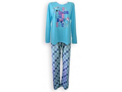Dámske pyžamo s dlhým rukávom