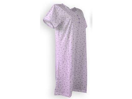 Dámska nočná košeľa s krátkym rukávom