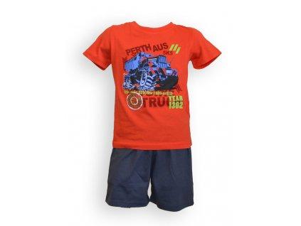Detské pyžamo - chlapčenské, kr. rukáv