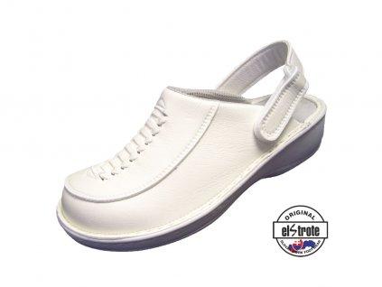 Dámksa zdravotná obuv HEALTHY 91 112 D biela