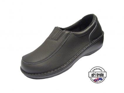 Dámska zdravotná obuv HEALTHY 91 122 čierna