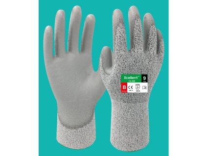Protiporezové pracovné rukavice XCELLENT 12-330