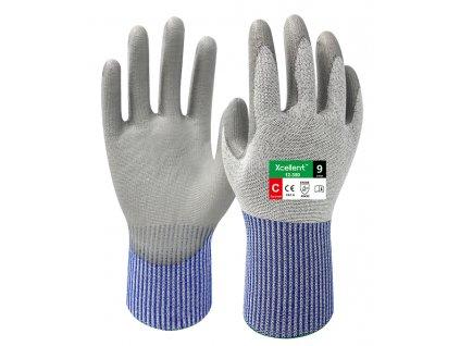 Protiporezové pracovné rukavice XCELLENT 12-350