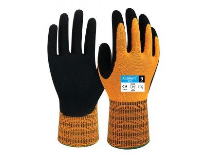 Ergonomické pracovné nitrilové rukavice XCELLENT 2111