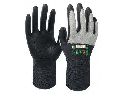 ESD ergonomické veľmi obratné nylonové rukavice XCELLENT 3030