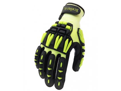 Antivibračné a protinárazové pracovné rukavice XCELLENT X-015