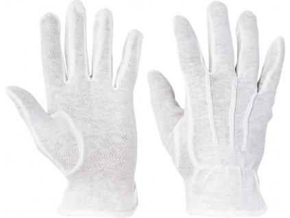 Bavlnené povrstvené rukavice BUSTARD