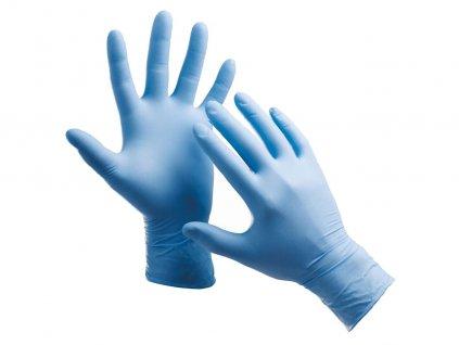 Jednorázové nitrilové pudrované rukavice BARBARY