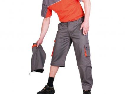 Montérkové nohavice DESMAN 2v1