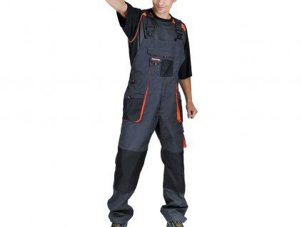 Montérkové nohavice s náprsenkou EMERTON