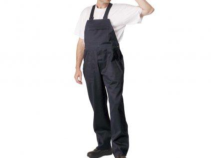 Antistatické nehorľavé nohavice s náprsenkou COEN