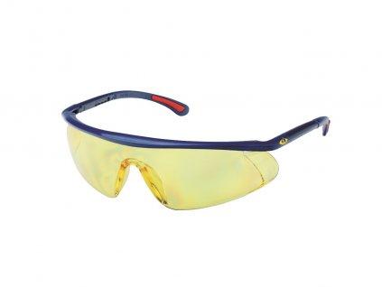 Ochranné pracovné okuliare BARDEN žlté