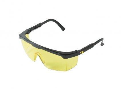 Ochranné pracovné okuliare TERREY žlté
