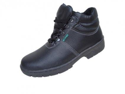 Zateplená členková obuv KLASIK 91 250 Z O1 čierna