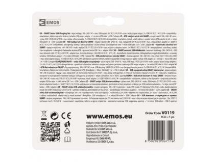 Duálny USB adaptér do siete+micro USB kabel + USB-C redukcia
