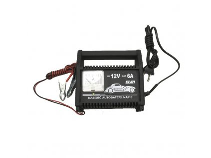 Nabíjačka autobatérií ELSIN NAP6, 12 V/6 A max.
