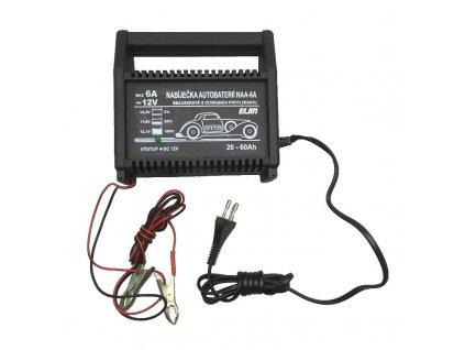Nabíjačka akumulátorov ELSIN NAA-6A/12V 6A max.