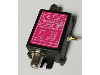 Zosilňovač UHF 26dB s odlaďovačem-10dB