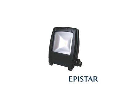 LED reflektor vonkajšie 10W/800lm Epistar, MCOB, AC 230V, čierny