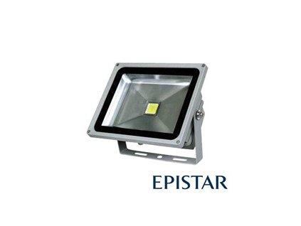 LED reflektor vonkajšie 30W/2500lm Epistar, MCOB, AC 230V, sivý