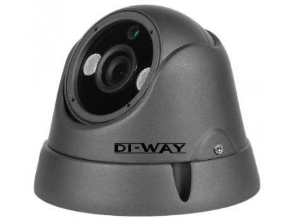 DI-WAY AHD anti-vandal vonkajšia dome IR kamera 720P, 3,6mm, 25m