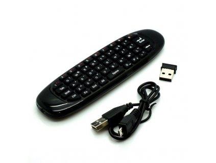 Airmouse OPENBOX bezdrôtové diaľkové ovládanie s QWERTY klávesnicou